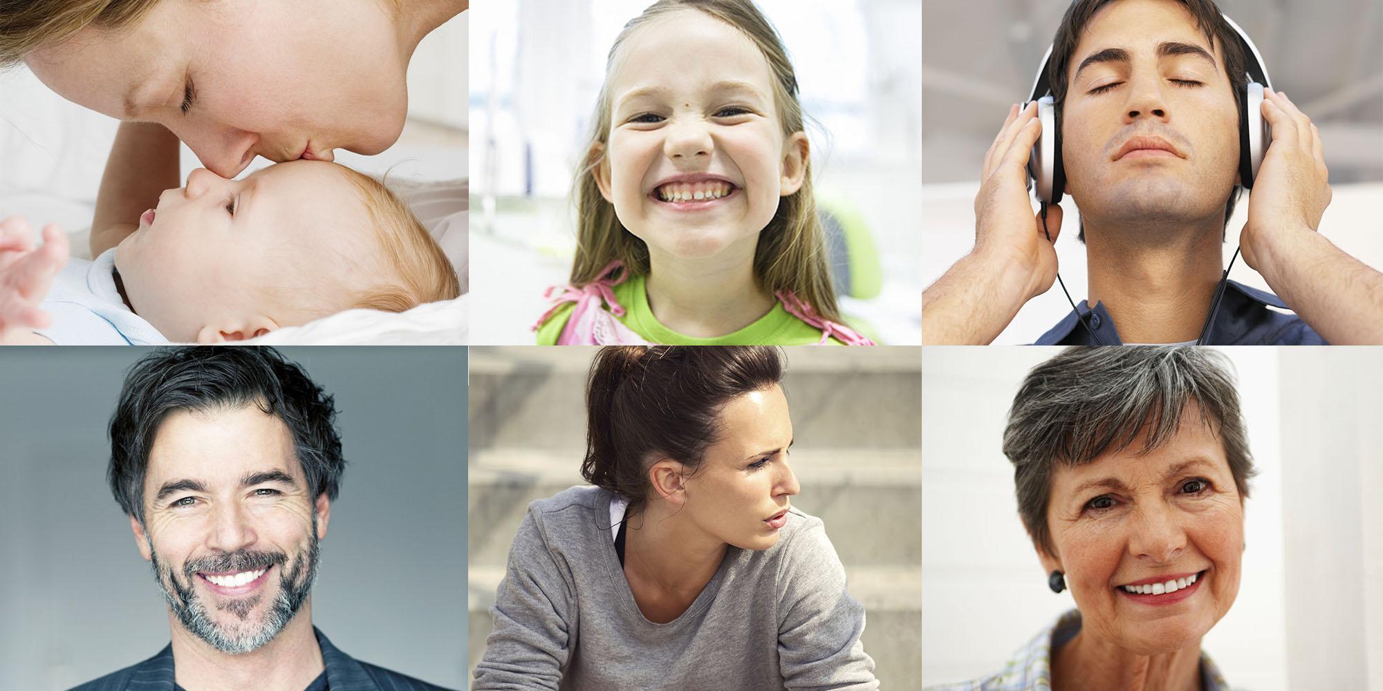 imágenes de personas soriendo